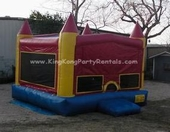 castle moonwalk rental, houston, tx - kingkongpartyrentals.com